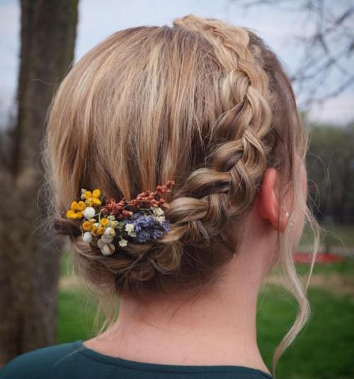 Halo Braid For Long Fine Hair