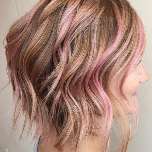 20 Brilliant Rose Gold Hair Color Ideas For 2018
