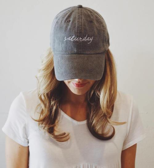 Blonde Waves With A Hat