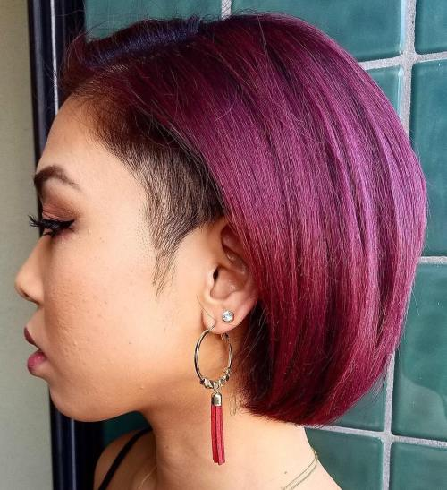 Astounding 20 Cute Shaved Hairstyles For Women Natural Hairstyles Runnerswayorg