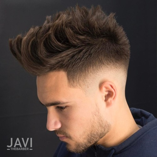 Drop Fade With Spiky Top
