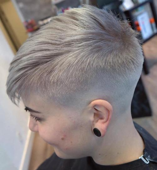 20 Inspiring Pixie Undercut Hairstyles