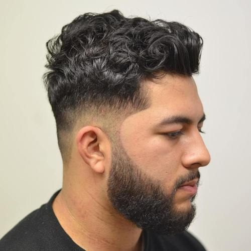 Curly Fade Haircut
