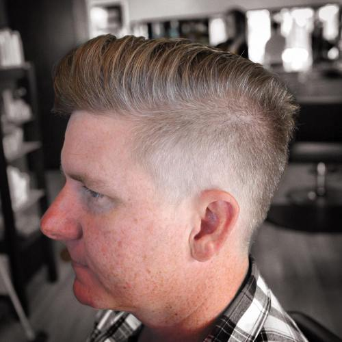 scissor fade haircut