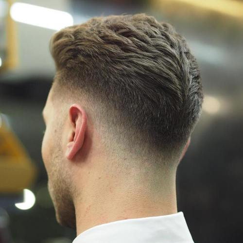 Taper Fade For Thick Hair