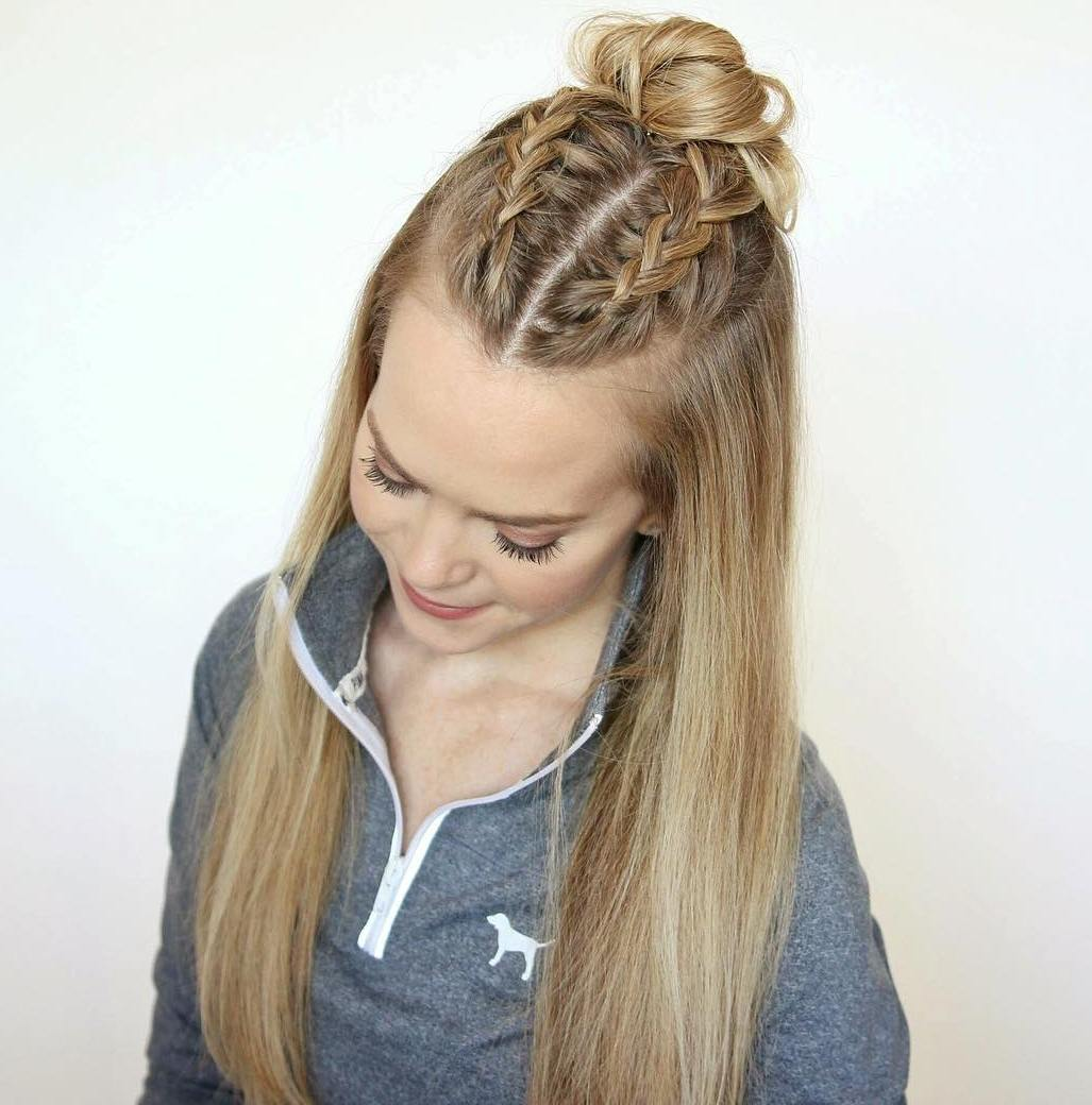 10 Ideas How to Spice Up Your Half Bun trends4everyone