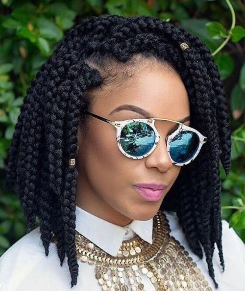 Box Braided Bob
