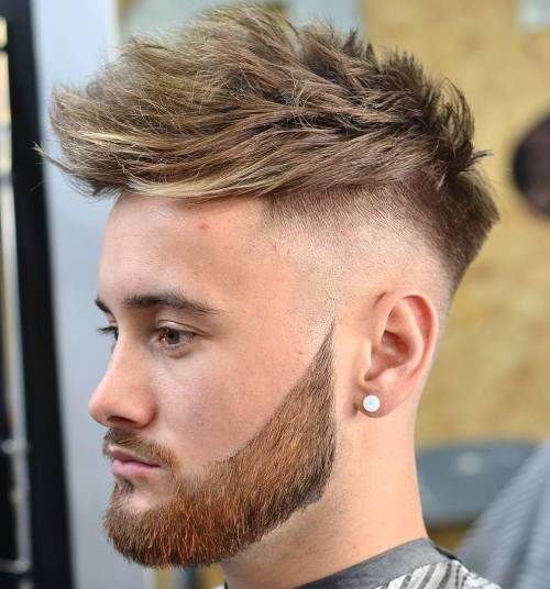spike hair styles for men 20 top s fade haircuts that are trendy now 6056 | 15 long top taper fade