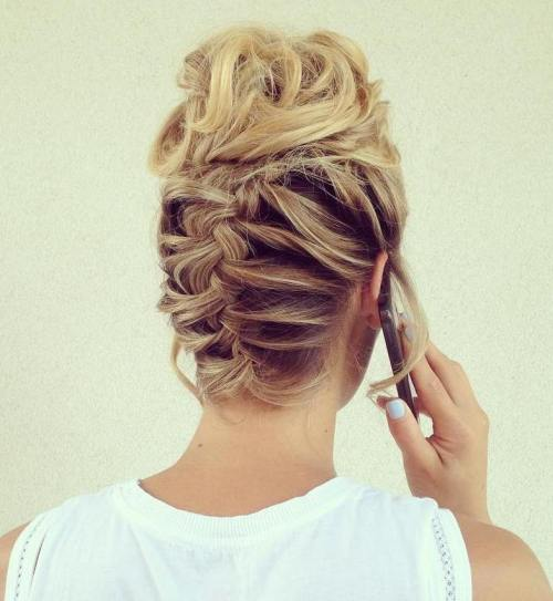 20 Cute Upside-Down French Braid Ideas