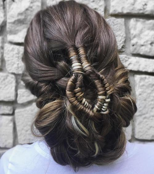 Got-Inspired Updo