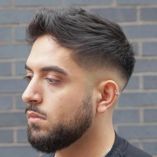 Low Fade For Receding Hairline