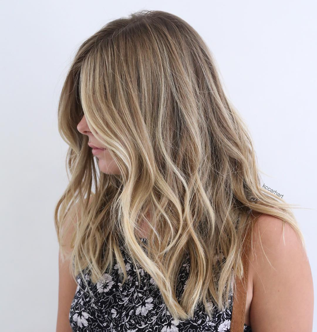 What is full vs partial balayage