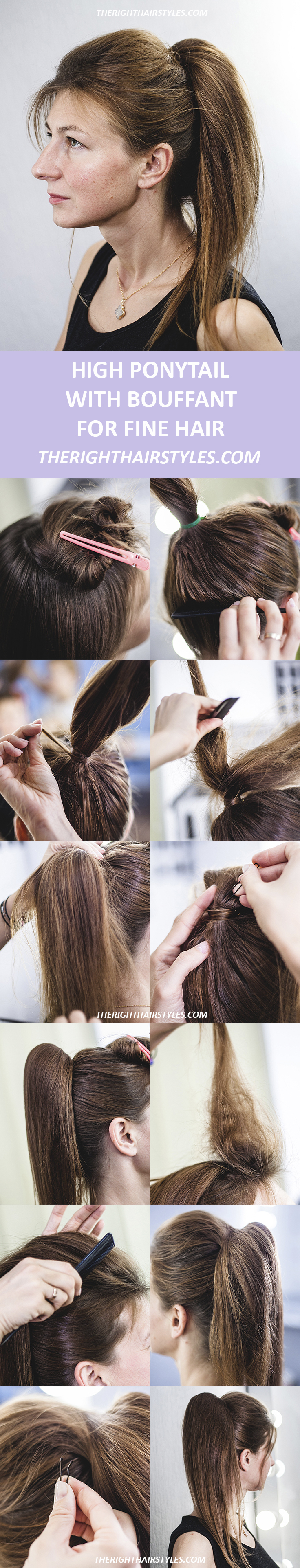 How to Make a High Ponytail in 6 Easy Steps