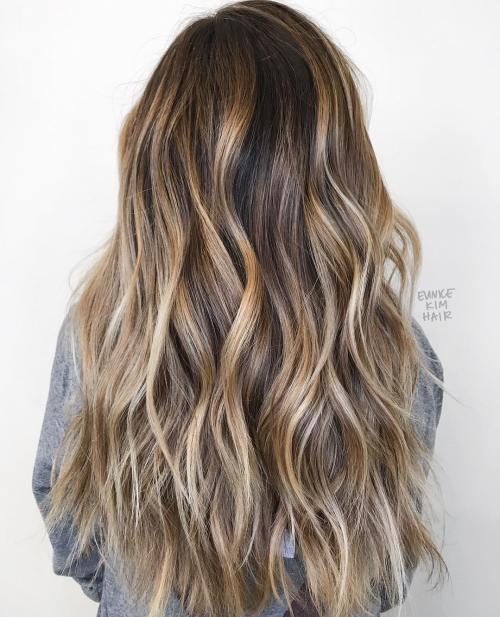 Mermaid Hair With Chunky Highlights