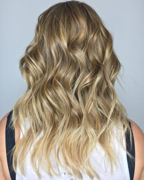 Dirty Blonde Beach Waves