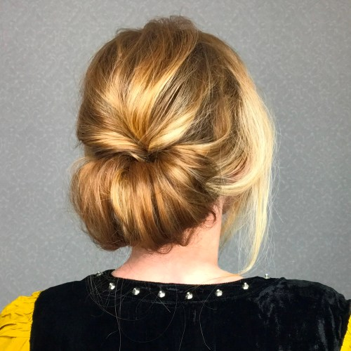 Low Chignon Bun