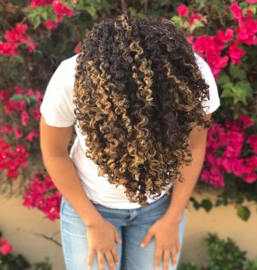 Pintura Highlights For Curly Hair Tips And Examples
