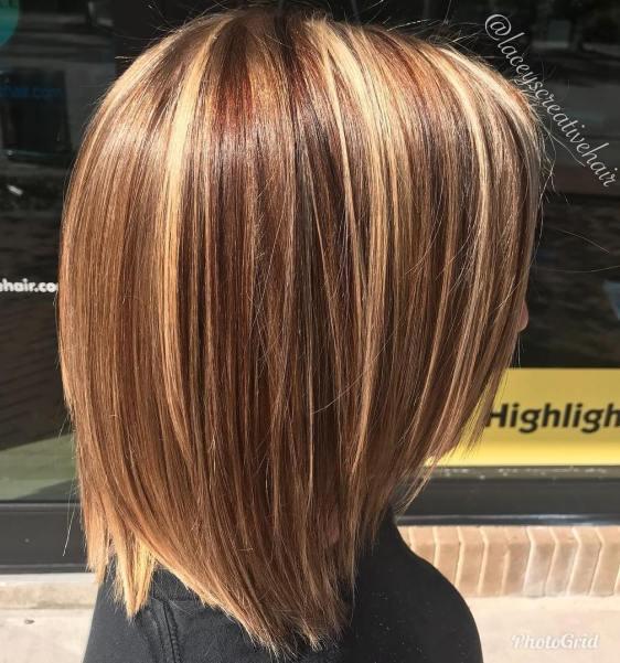 Medium Multi Colored Hair
