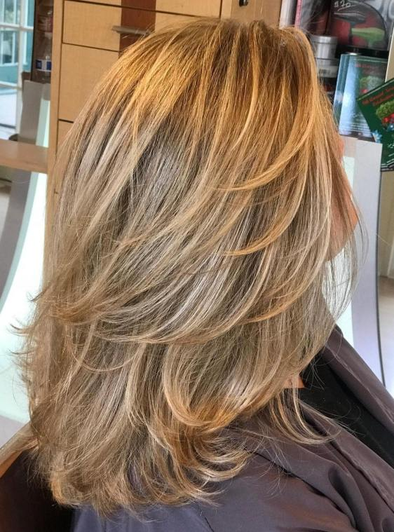 Flipped Layers And All Over Lightening
