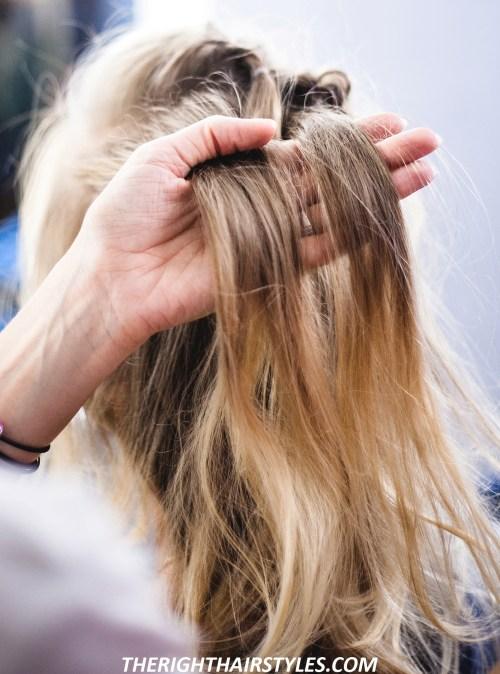 Voluminous Hairstyle: Step 6