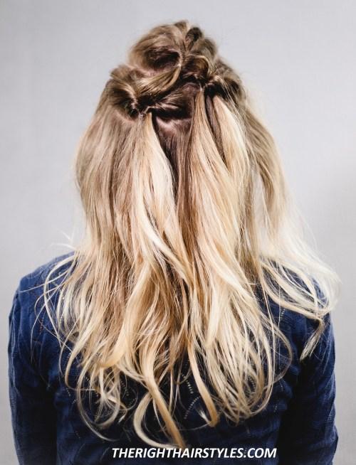 Voluminous Hairstyle: Step 7