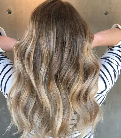 Blonde Balayage Look