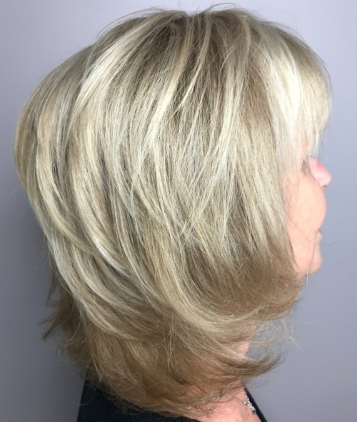 Chin-Length Haircut with Elongated Back