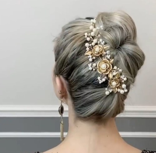 Easy Way to Style a Hairstyle for Special Occasion with Short Hair