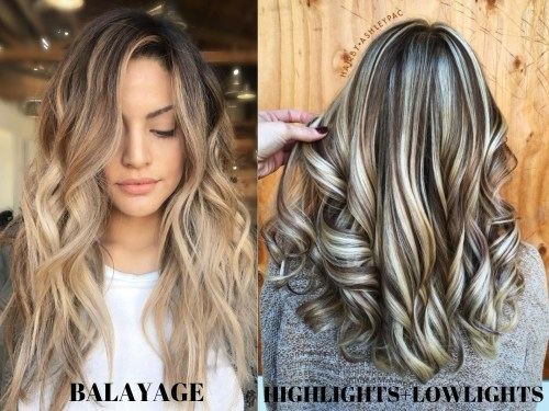 Balayage vs Classic Highlights