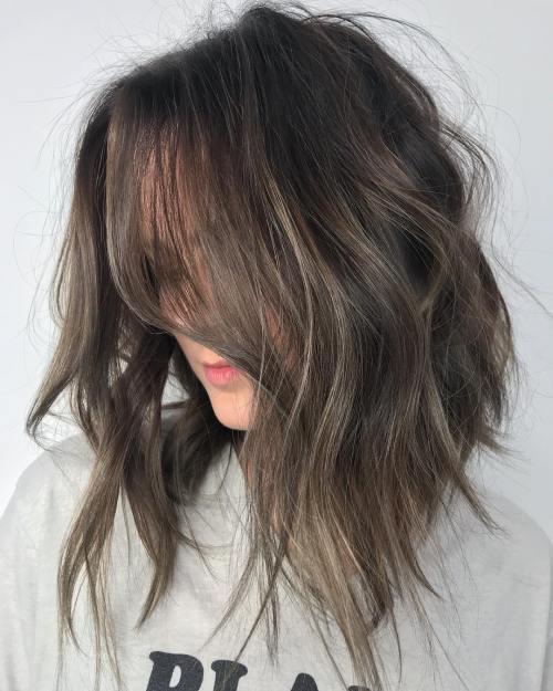 Subtle Mushroom Brown Hair Balayage