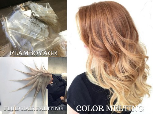 Flamboyage vs Color Melt