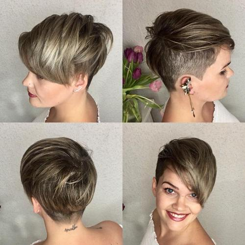 Pixie Cut With Hair Wax