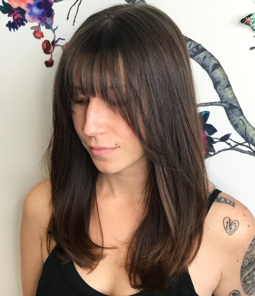 Fantastic The Best Bangs For Your Face Shape In 2020 The Right Hairstyles Natural Hairstyles Runnerswayorg