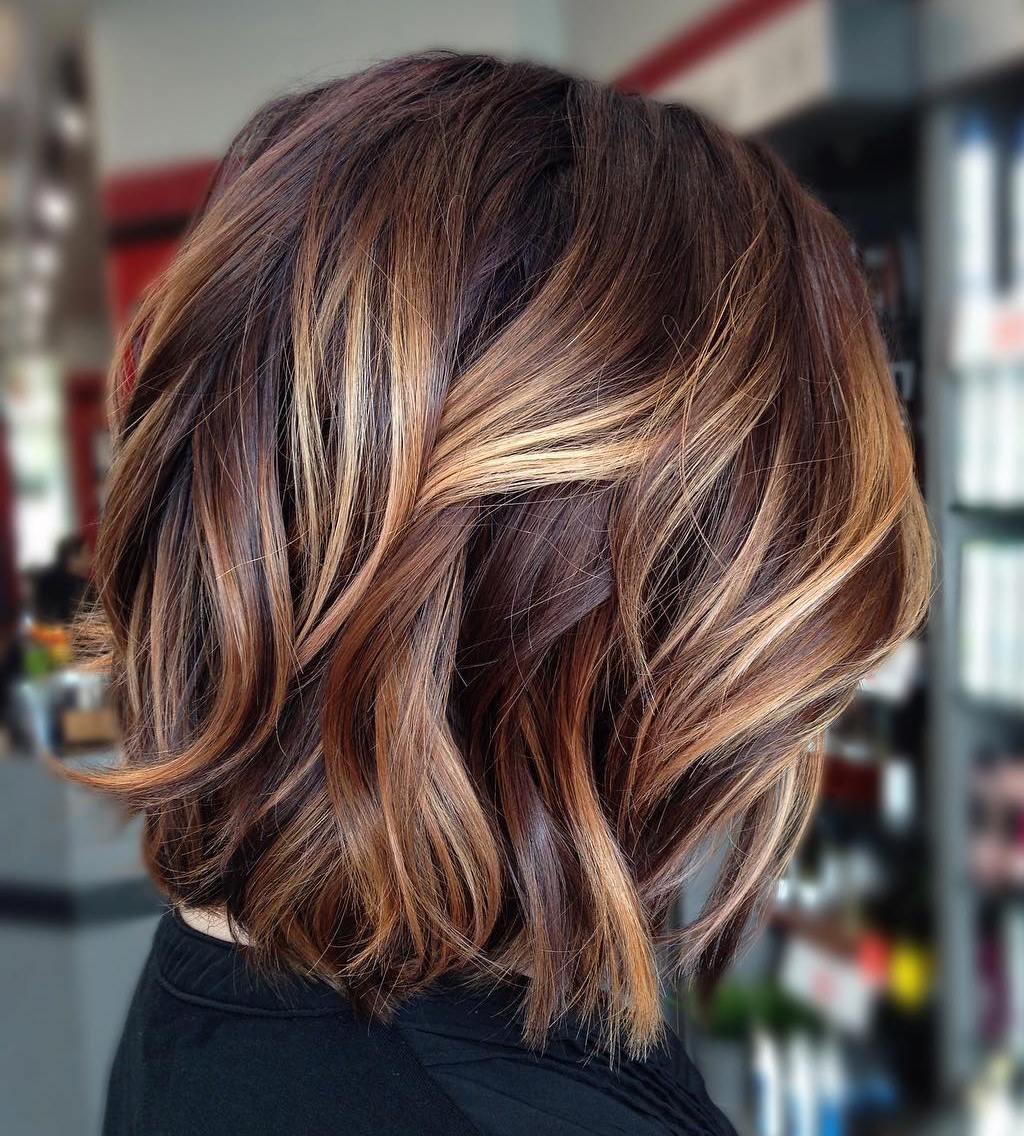 Blond und braune haare