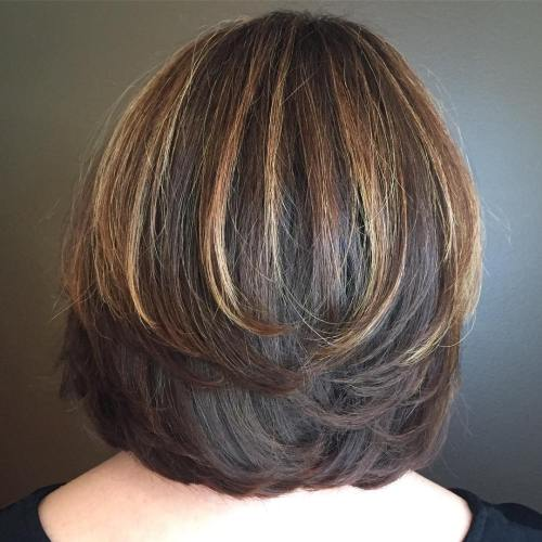 Two-Layer Bob for Thick Hair