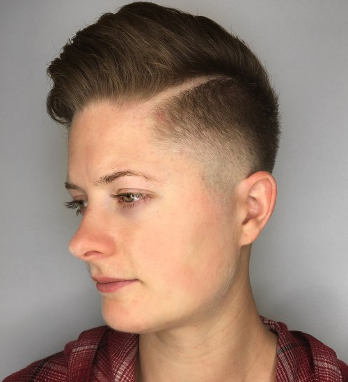 Comb-Over Pomp with Hard Part