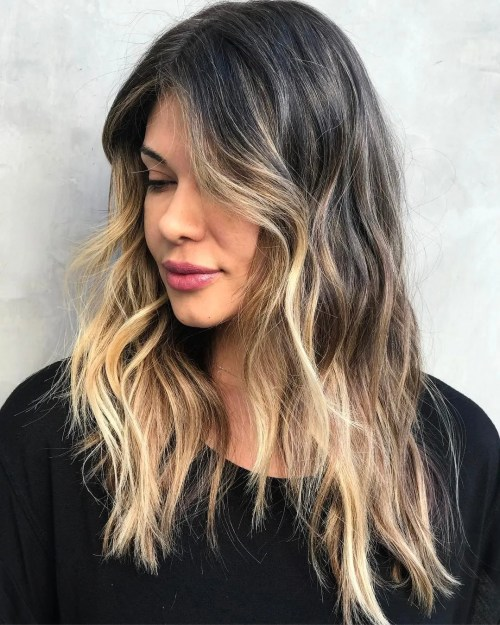 Medium Bronde Balayage Shag