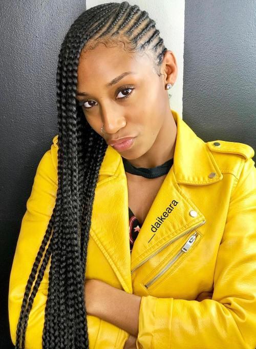 head-turning lemonade braid