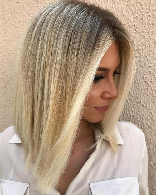 Shoulder-Length Blonde