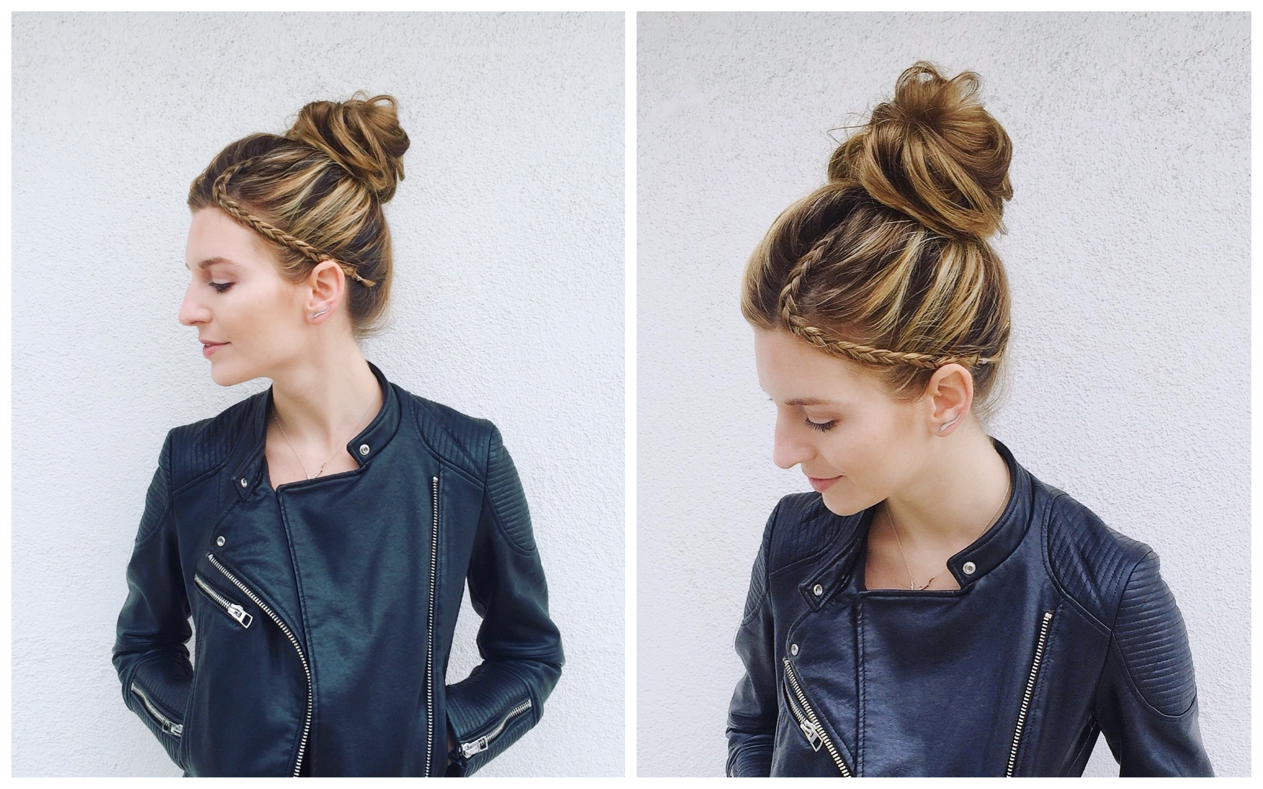 Edgy High Bun