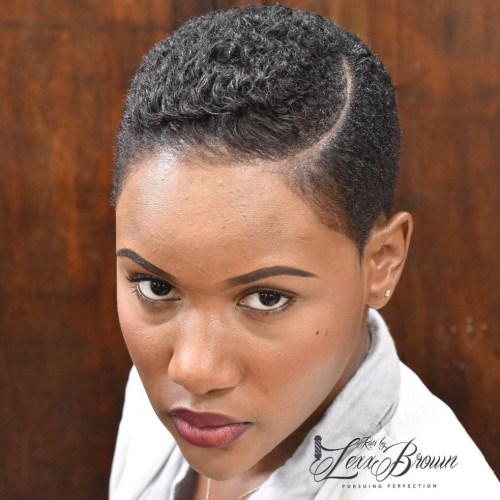 20 Enviable Short Natural Haircuts For Black Women