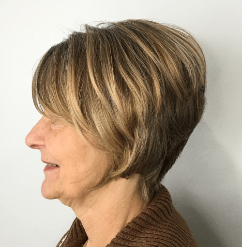Long Two-Layer Pixie over 60