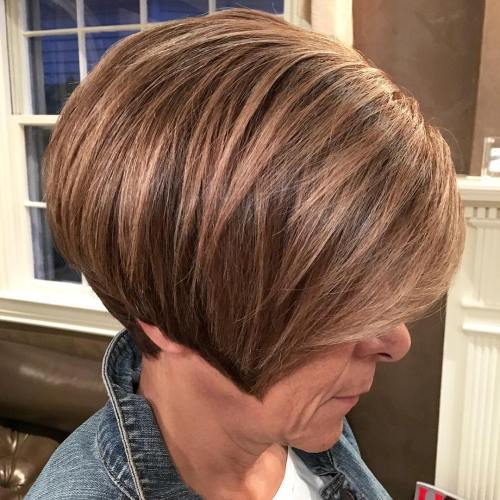 Pixie Bob Haircut For Women Over 60