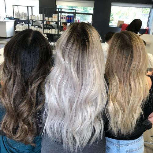 Long Hair with Shadow Root