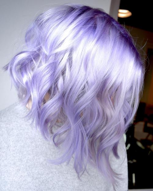 Metallic Lilac Hair