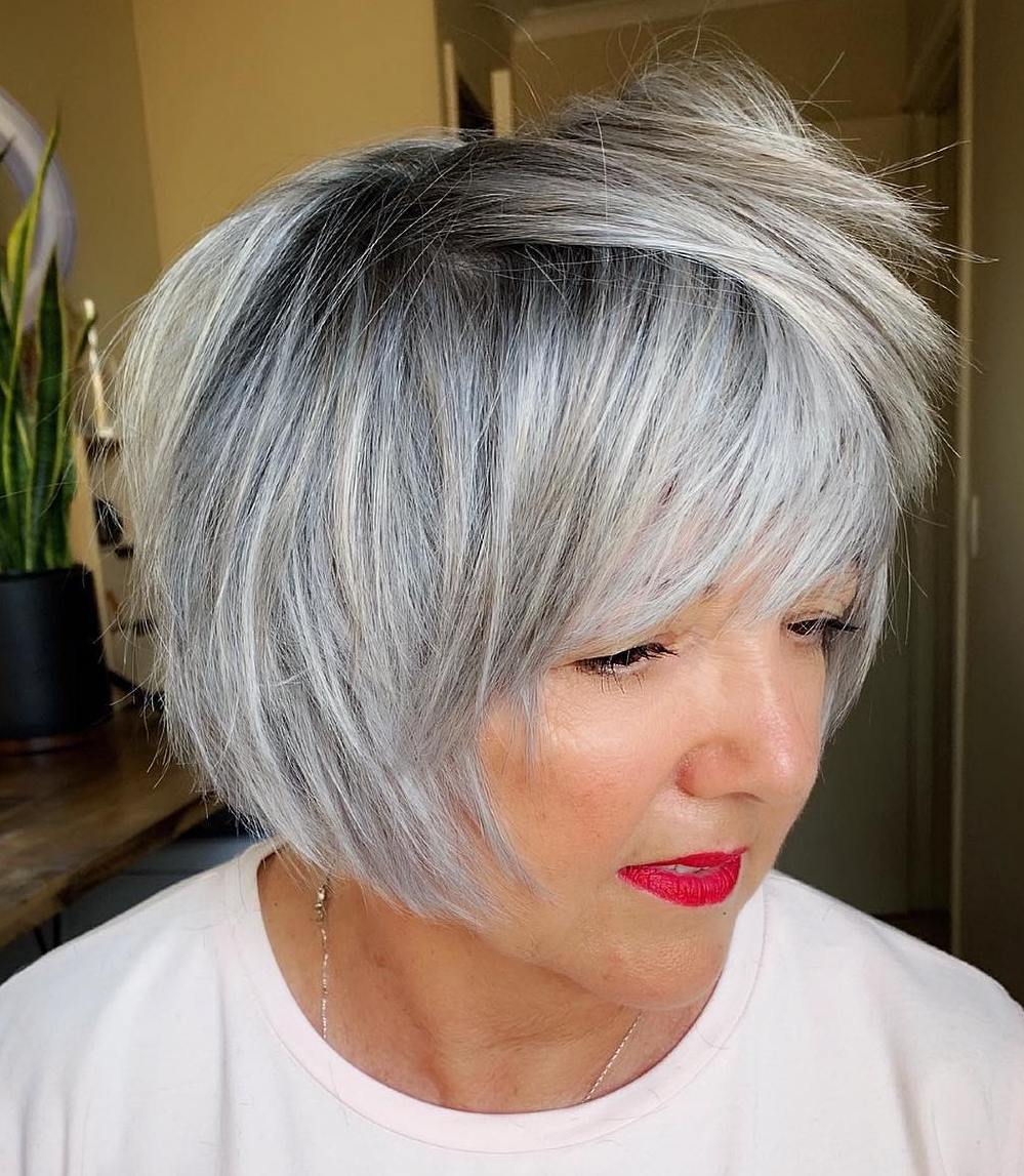 40 Best Short Hairstyles and Haircuts for Women over 60