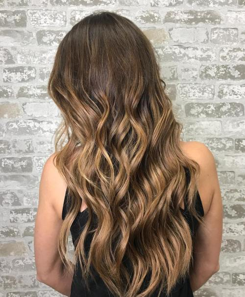 Bronze Metallic Hair