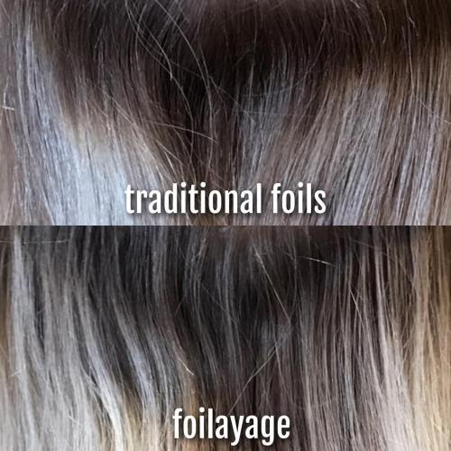 Traditional Foils vs. Foilyage