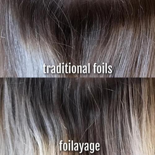 Traditional Foils vs. Foilyage