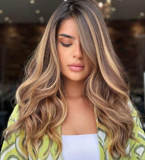 Dark Brown to Honey Blonde Hair